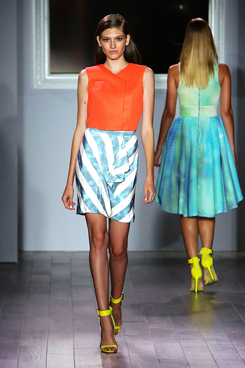 Raul Peneranda neon fashion design