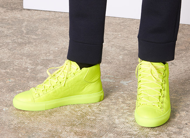 neon high top sneakers