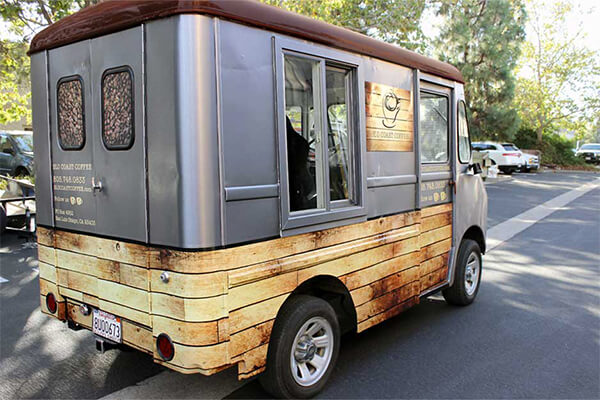 Coffee Truck Wrap