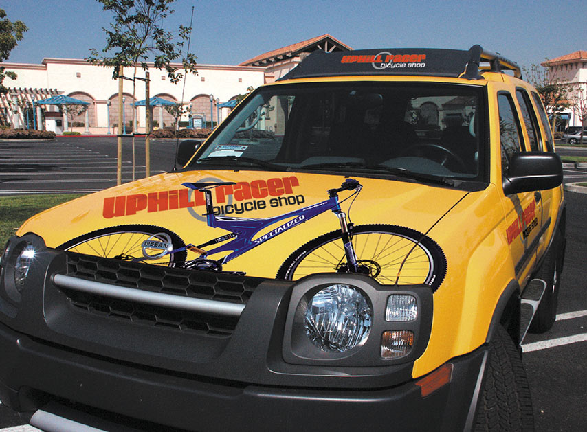 Print Cut vehicle wrap